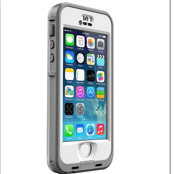 Lifeproof Nuud iPhone 5 / 5s Gray & White Case